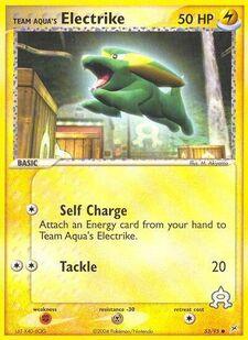 Team Aqua's Electrike (MA 53)