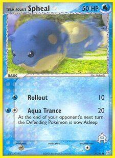 Team Aqua's Spheal (MA 57)