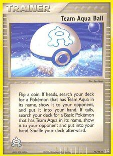 Team Aqua Ball (MA 75)
