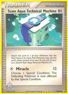 Team Aqua Technical Machine 01 (MA 79)