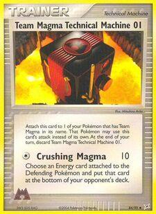 Team Magma Technical Machine 01 (MA 84)
