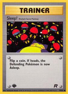 Sleep! (TR 79)
