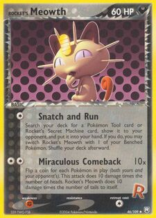 Rocket's Meowth (TRR 46)