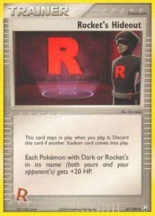 Rocket's Hideout (TRR 87)