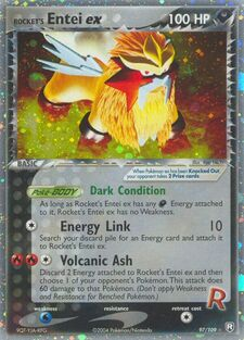 Rocket's Entei ex (TRR 97)