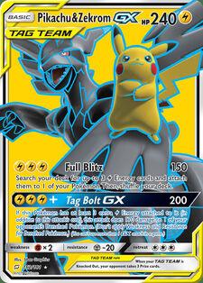 Pikachu & Zekrom-GX (TMU 162)