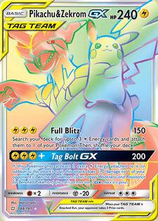 Pikachu & Zekrom-GX (TMU 184)