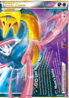 Darkrai & Cresselia LEGEND (TM 100)