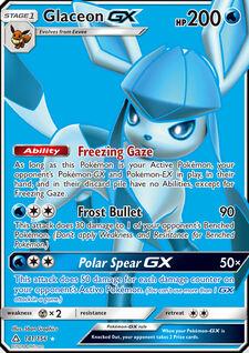 Glaceon-GX (UPR 141)