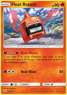 Heat Rotom (UPR 24)