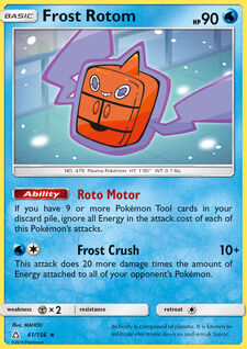Frost Rotom (UPR 41)
