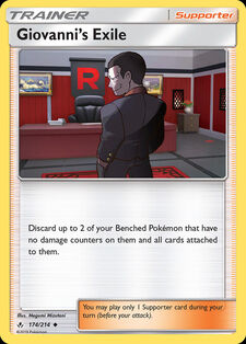 Giovanni's Exile (UNB 174)