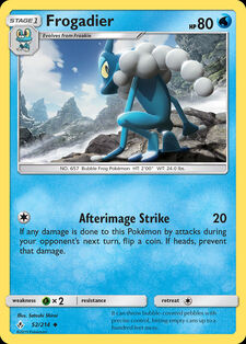 Frogadier (UNB 52)