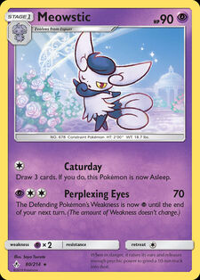 Meowstic (UNB 80)