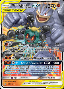 Marshadow & Machamp-GX (UNB 82)