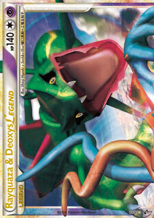 Rayquaza & Deoxys LEGEND (UD 89)
