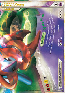 Rayquaza & Deoxys LEGEND (UD 90)