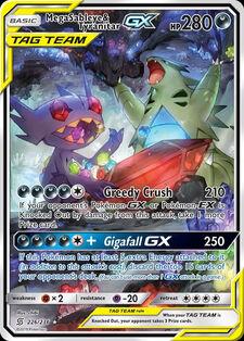 Mega Sableye & Tyranitar-GX (UNM 226)