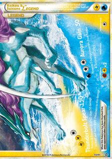 Raikou & Suicune LEGEND (UL 93)