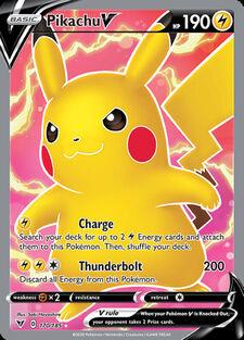 Pikachu V (VIV 170)