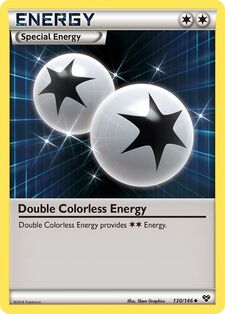 Double Colorless Energy (XY 130)