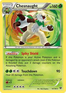 Chesnaught (XY 14)
